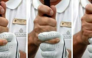 golf grip types