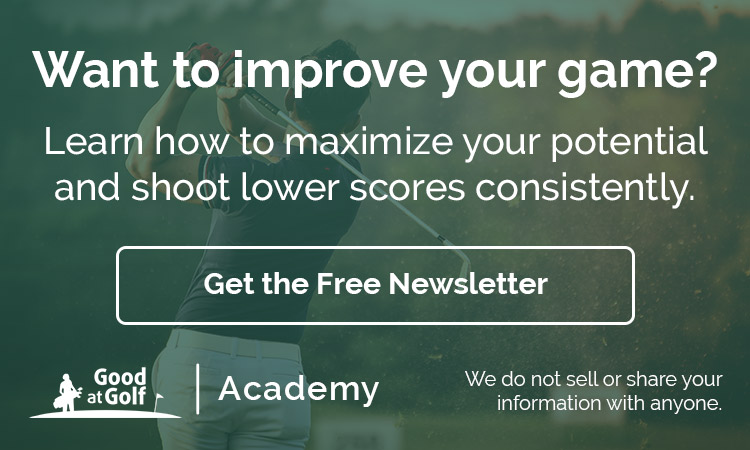 Get the Free Good at Golf Academy Newsletter