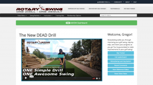 The DEAD Drill claims to help you build a consistent golf swing with one simple drill.