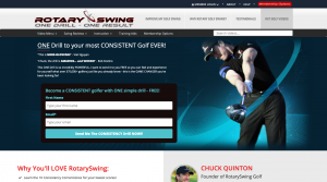 Rotary Swing claims to teach you one drill to a consistent golf swing. Can they live up to their own hype?